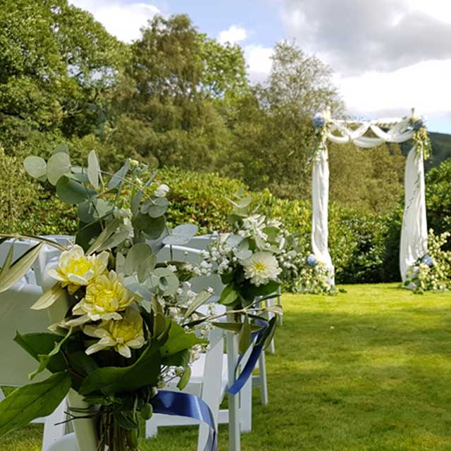 Humanist Lawn Wedding Ceremony
