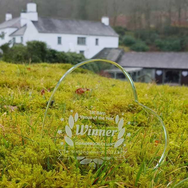 Award Winning Weddings - UK Barn Venue of the Year