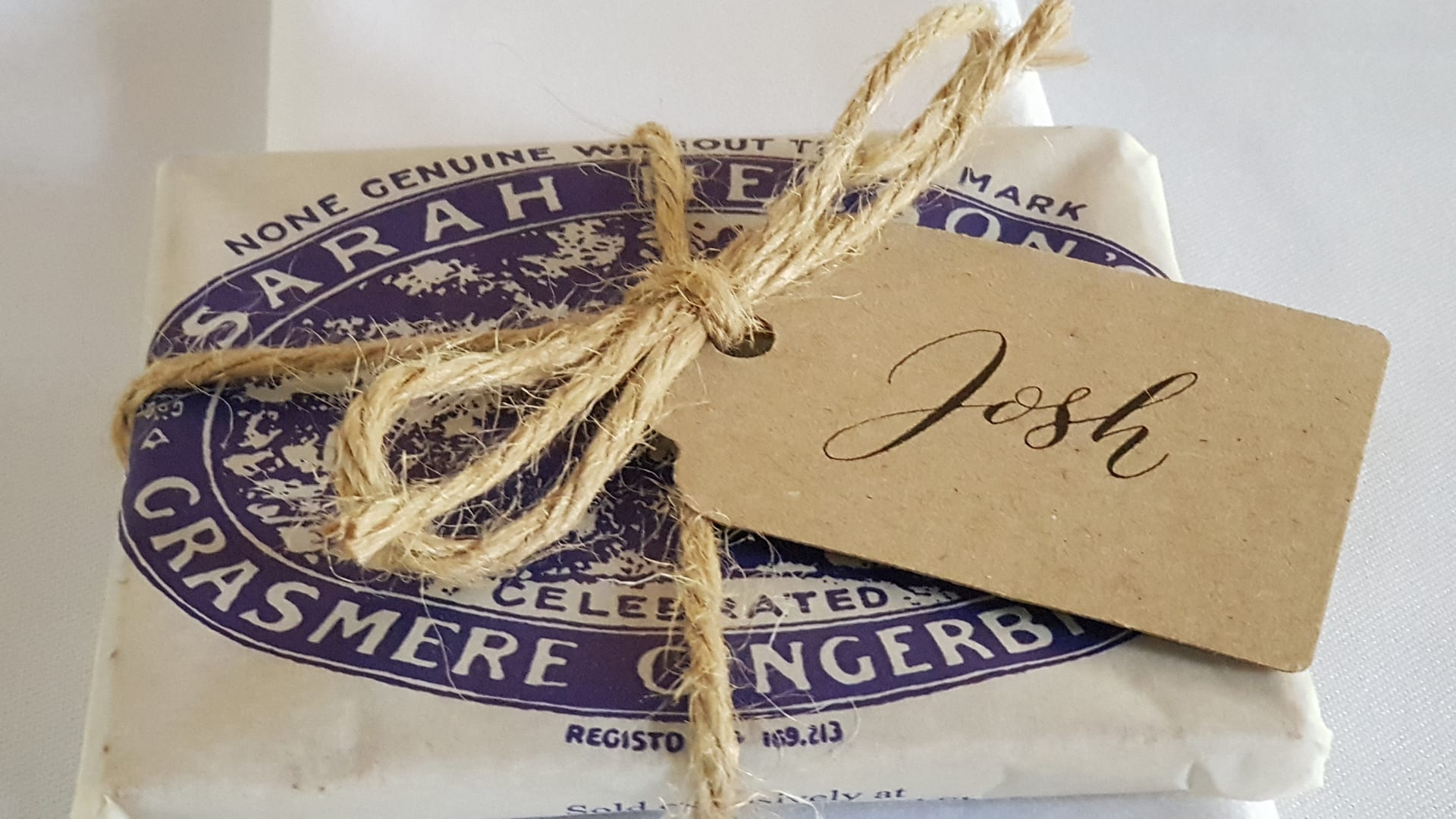 Grasmere Gingerbread Wedding Favours
