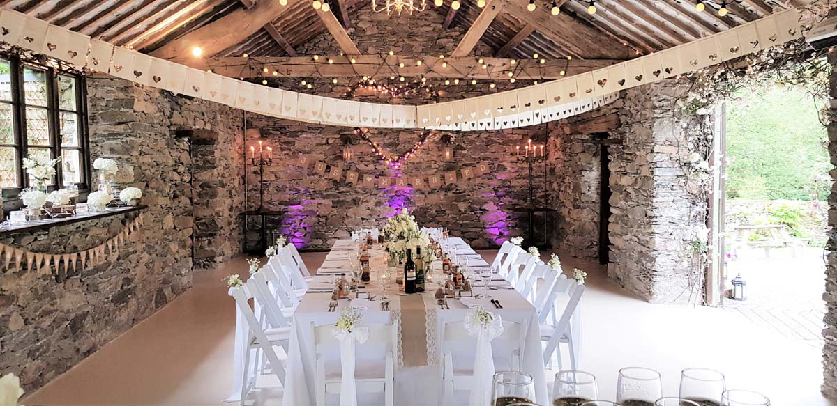 Small and intimate Wedding Venue