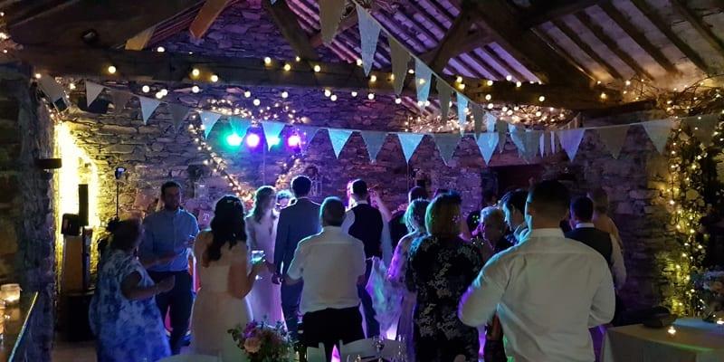 A filled Barn Dance Floor