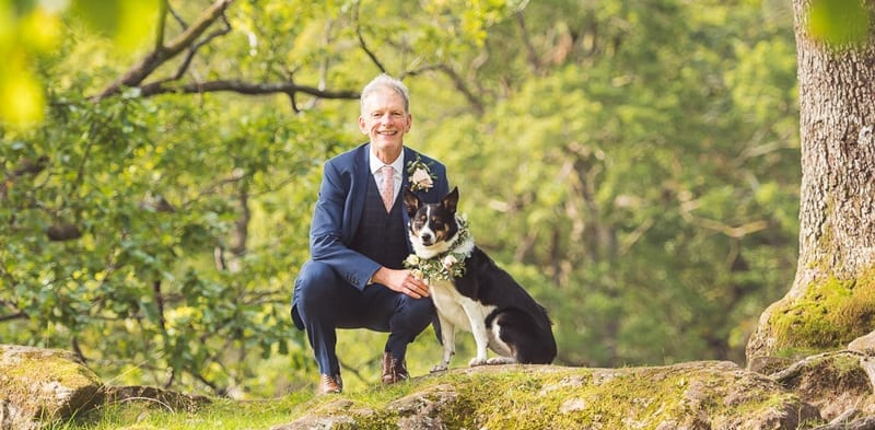 Keeping your dog happy at your wedding