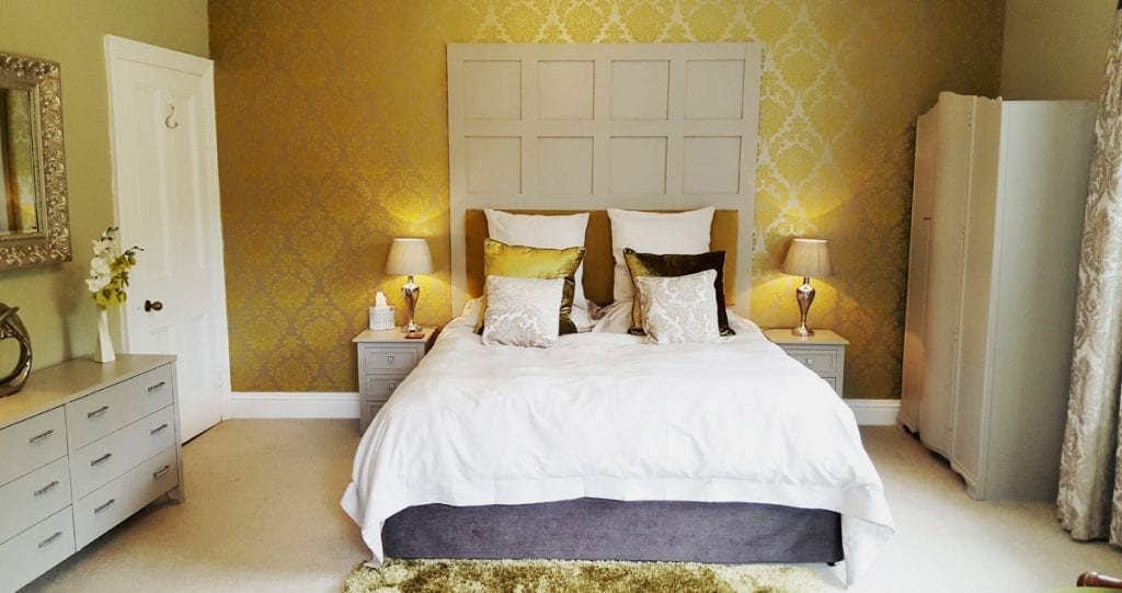 Luxury Wedding Accommodation Bridal Suite at Cote How