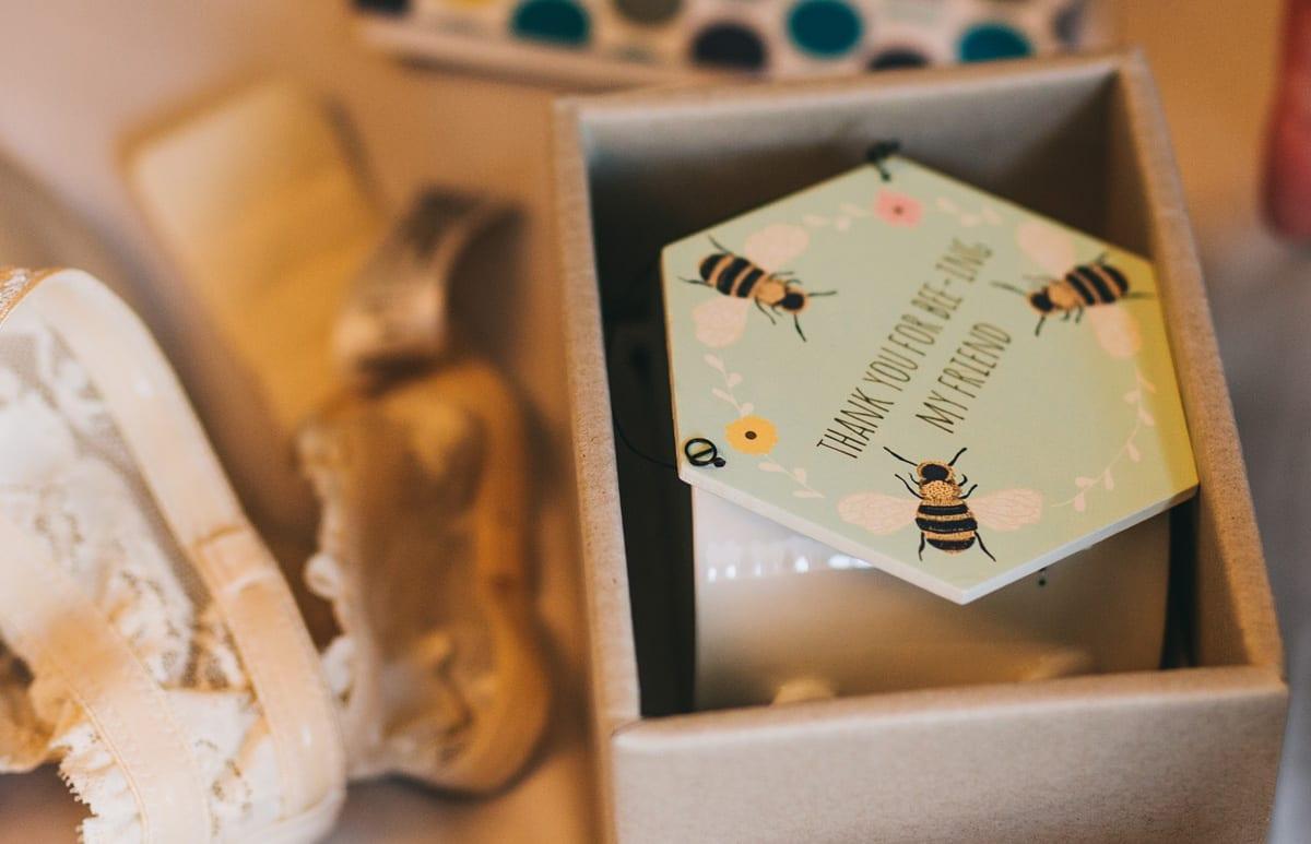 Bespoke personalised wedding gifts