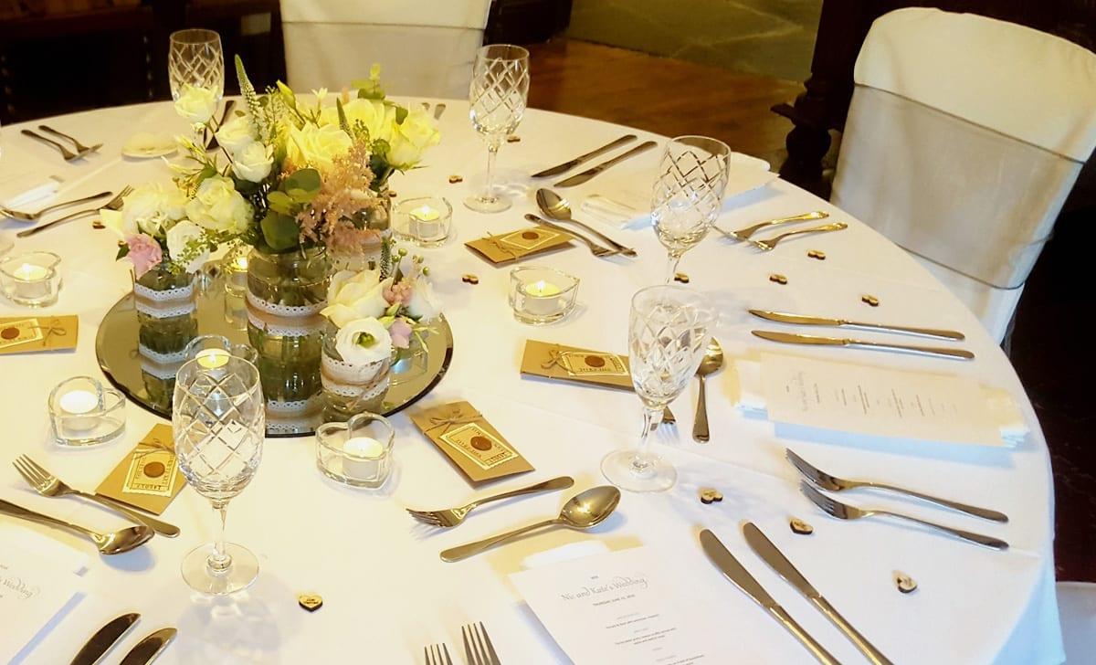 Intimate Fine Dining Wedding Options