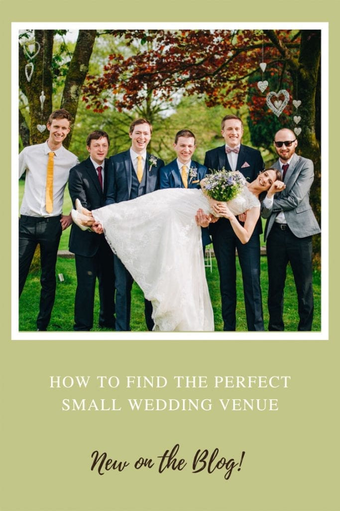 How to Find the Perfect Small Wedding Venue
