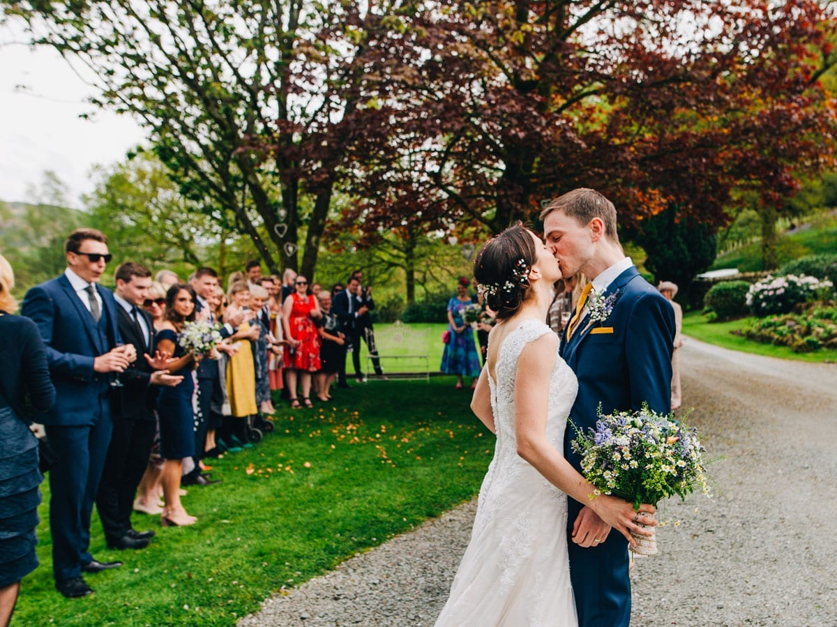 Just Married in the Perfect Small Wedding Venue