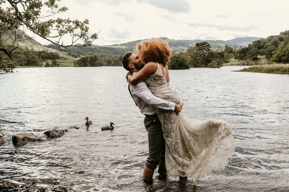 Lake District Adventure Elopement - Jenna Carpenter