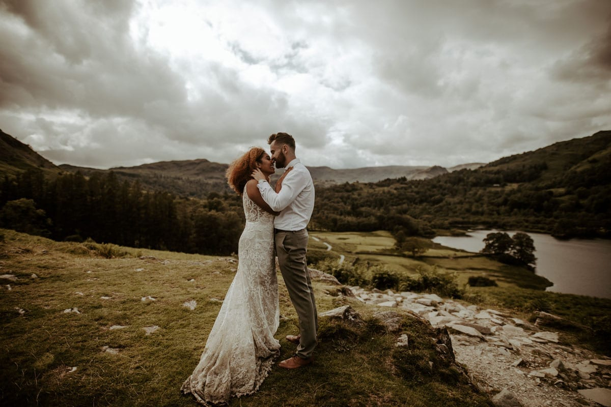 Stunning Landscapes for and Adventure Elopement - Jo Greenfield