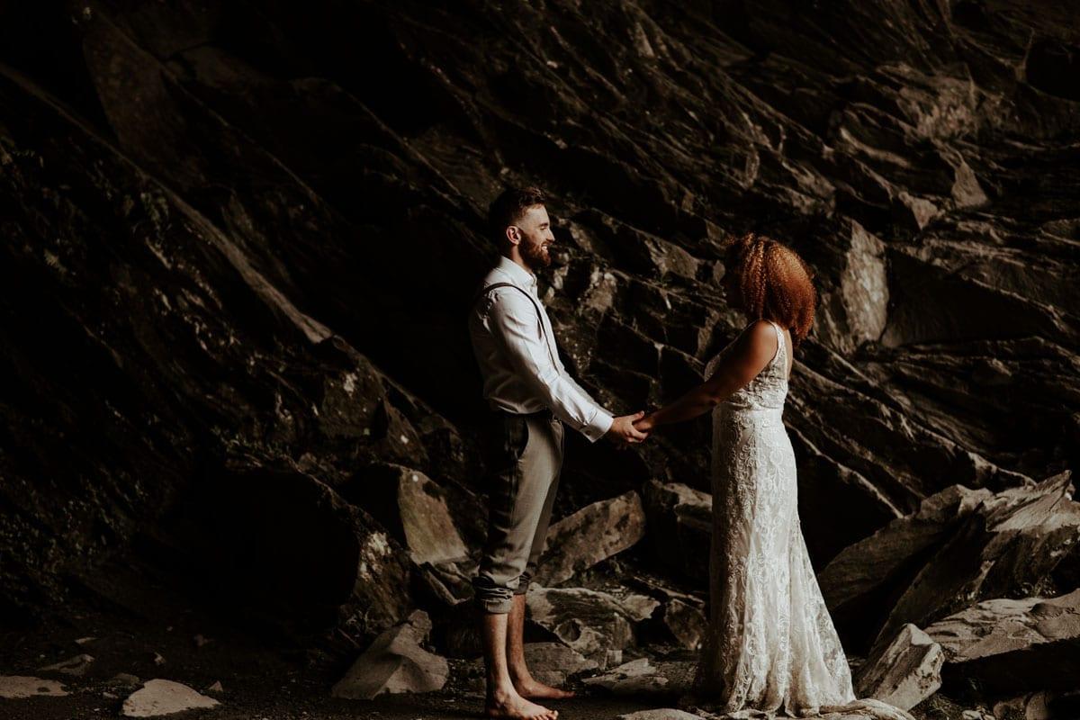 Outdoor Mountain Wedding - Jo Greenfield
