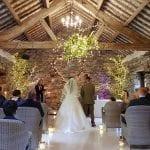 Very Small Barn Wedding Ceremony