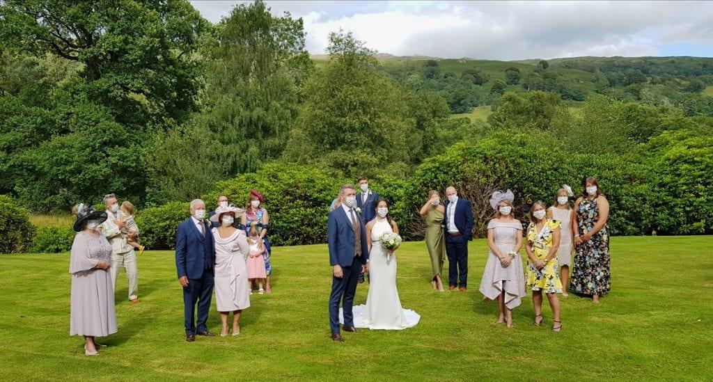 Small Socially Distanced Micro Wedding