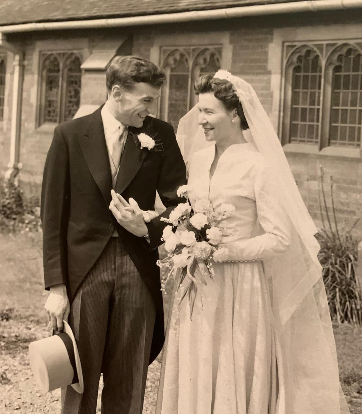 Wedding-Music---Old-Fashioned-Music-choices-Groom-and-Bride-in-1958