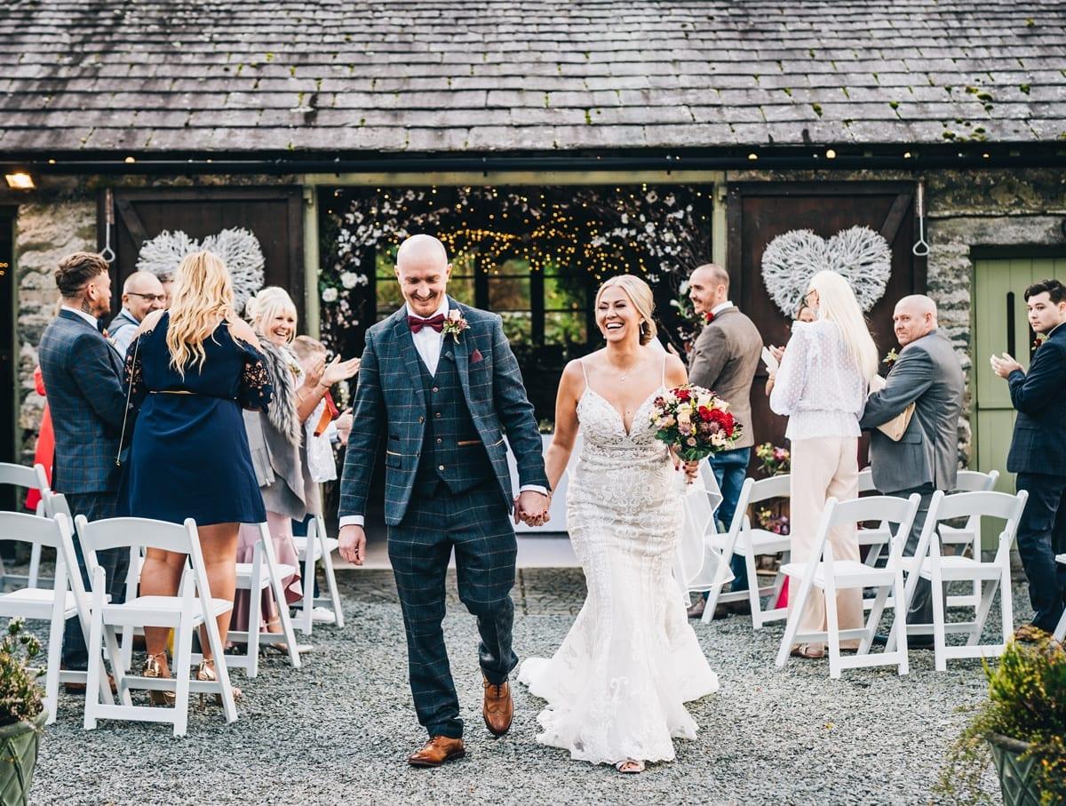 Outdoor Lake District weddings