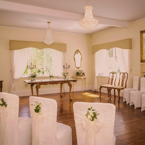 Intimate Ceremony in the Fairfield Room