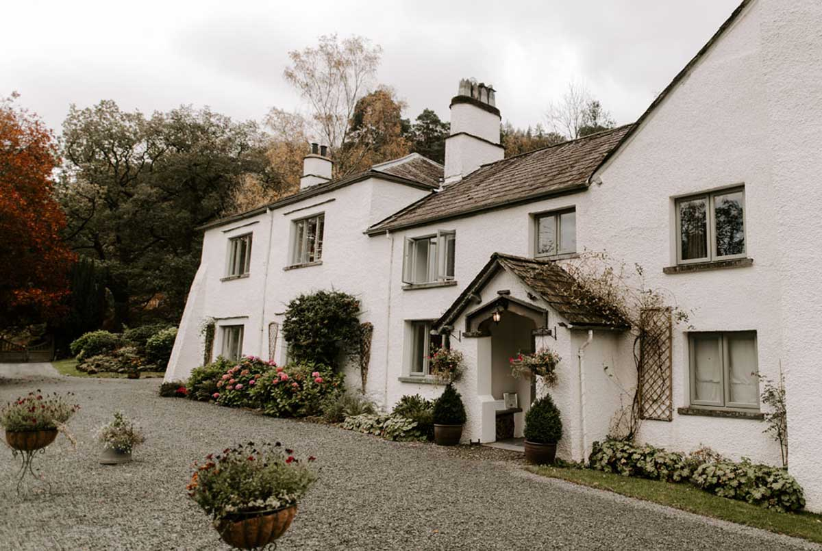 Small Lake District Covid Safe Wedding Venue