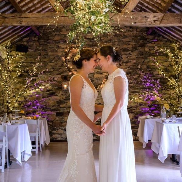 lgbtq wedding venue - Two Brides