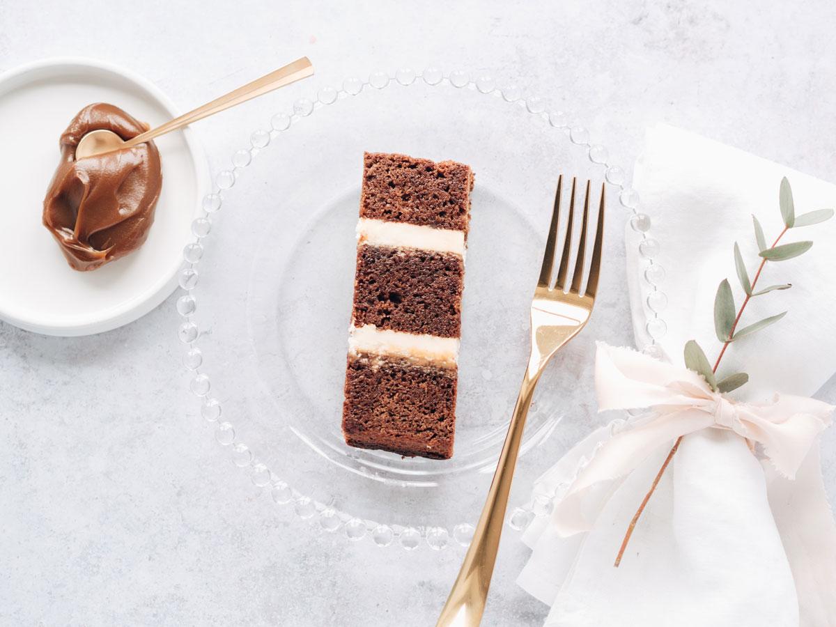 Cote How Sticky Toffee Wedding Cake