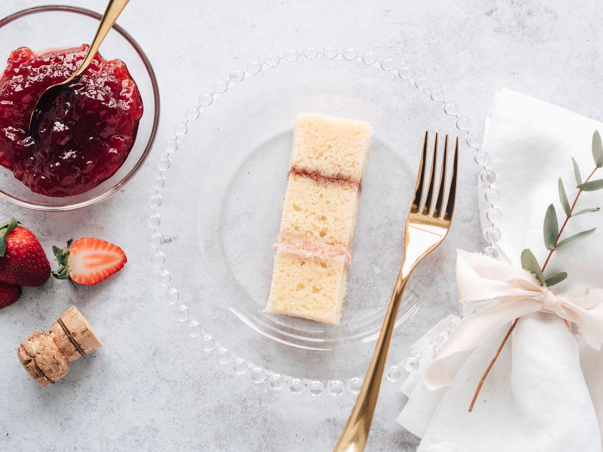 Cote How White Chocolate and Raspberry Wedding Cake