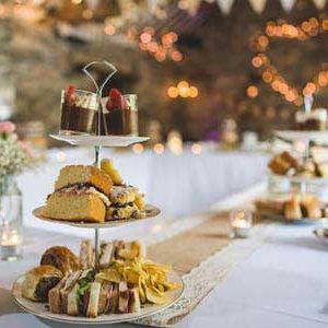 A Vintage Afternoon Tea Wedding in the Barn at Cote How